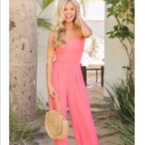 Pink Lily Boutique - One Perfect Moment jumpsuit